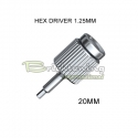 Screwdriver Hex 1.25mm
