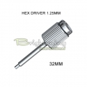 Screwdriver Hex 1.25mm long