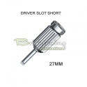 Screwdriver Slot Short 27 mm long