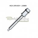 Torque Wrench Insert Hex 1.25mm_ Long size
